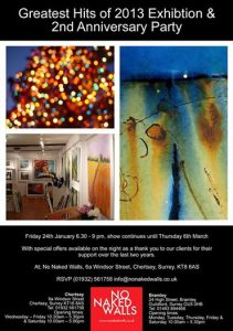 2nd Anniversary party invite