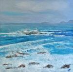 Frances Jordan Cornish Rollers II cornwall seascape painting for sale