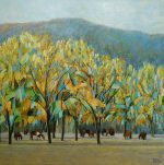 Hazel Barker A Magical Day In Malija painting for sale