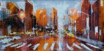 Richard Knight That Sixth Avenue Buzz nyc painting for sale