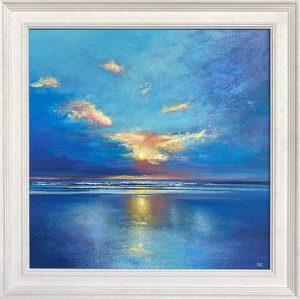 John Connolly Porth cornish beach landscape painting for sale