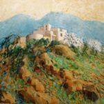 Hazel Barker Cueva Morale Almeria spanish landscape for sale