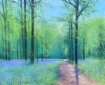 John Connolly Bluetime Lockdown Walk painting