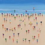 Fun at the beach I Aliaga colourful art