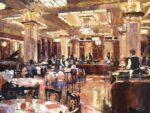 John Hammond Brasserie Zedel impressionist painting
